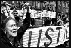 Su actividad política comienza en 1973, cuando su hijo Jesús Piedra Ibarra es acusado de pertenecer a un grupo armado de orientación comunista, la Liga Comunista 23 de Septiembre. Jesús Piedra desapareció en 1974, cuando fue detenido por las autoridades tras el asesinato del policía Guillermo Villarreal Valdez. A partir de entonces, Rosario Ibarra inició un largo peregrinar en las instituciones gubernamentales demandando información acerca del paradero de su hijo.