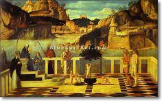 The Sacred Allegory - : Canvas Art, Oil Painting Reproduction, Art Commission, Pop Art, Canvas Painting Andrea Mantegna, Giovanni Bellini, Italian Painters, Paul Cezanne, Italian Renaissance, Oil Painting Reproductions, Hand Painting Art, Pop Art, Canvas Art