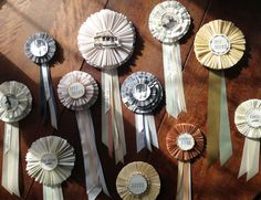 Downloadable DIY prize ribbons from shanna murray - what a pretty thing to give someone.