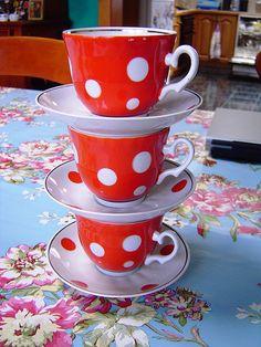 polka dot cups by damselfly58, via Flickr