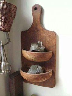 Cute, but cut a bowl in half????