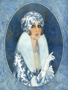 Primavera by Armand Vallée for LVP 1921