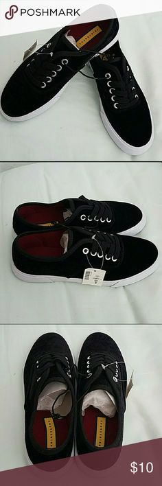 NWT Aeropostale Velvet Lace Up Shoes Prince and Fox velvet lace up tennis shoes from Aeropostale.  Size 6.  New with tags. Prince & Fox Shoes Sneakers