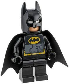 Amazon.com: LEGO Kids' 9005718 Super Heroes Batman Alarm Clock: Lego: Watches