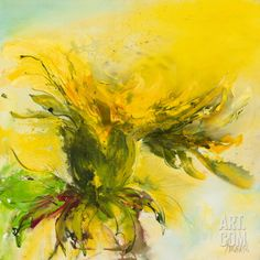 Lowenzahn I Art Print by Waltraud Nawratil at Art.com