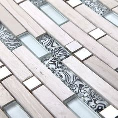 Stone marble mosaic tile glass mosaic kitchen tile backsplash SGMT057 FREE SHIPPING glass mosaic wholesale strip tile mosaics