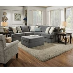 Create a comfortable, stylish place to relax and unwind with the Simmons Upholstery Abington Sectional . This two-piece sectional sofa is supported. Living Room Furniture, Home Furniture, Living Room Decor, Online Furniture, Apartment Furniture, Antique Furniture, Modern Furniture, Mexican Furniture, Home Organization