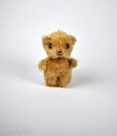 OOAK teddy bear 43 soft toy hand made toy stuffed by LelukoToys, $29.00