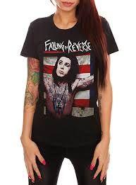 Falling In Reverse Ronnie Flag Girls T-Shirt - 141244 on Wanelo 8a854b2402197