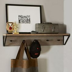 Smoked Gray Shelving System #pbteen