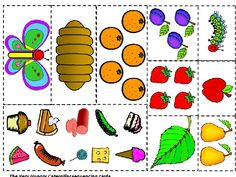 """Counting Activity using the story """"The Very Hungry Caterpillar ..."""