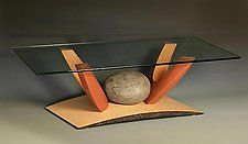 "Nested Coffee Table in Maple by Derek Secor Davis (Wood Coffee Table) (15.5"" x 51"")"