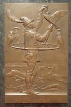 Vienna Bronze relief plaque by Karl Perl (1876-1965), signed and dated 1912