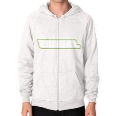 Di3seL Logo Shirt Zip Hoodie (on man) Shirt
