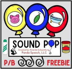 This is an advanced preview sample of my newest product Articulation Sound Pop! Color and Black & White!Your students will love making play dough balloons and popping them while practicing target sounds! This freebie includes a color and black & white version of the following: Initial p/b Medial p/b Final p/bMake sure you are following my store to get notified on when I release the full sets!