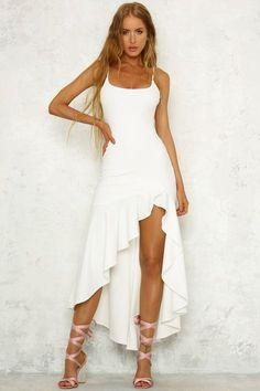 white maxi dress,beach maxi dress, summer maxi dresses from MychicDress - Women's style: Patterns of sustainability White Maxi Dresses, Sexy Dresses, Prom Dresses, Sexy White Dress, Beach Formal Dresses, White Party Dresses, Long Dresses, 1950s Dresses, Graduation Dresses
