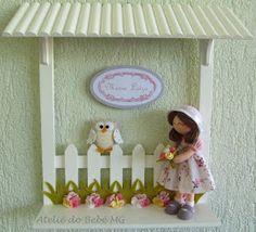 Ateliê do Bebê MG: Quadrinho Casinha ( Maria Luiza )