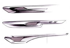BMW Gran Coupe Concept Design Sketches.