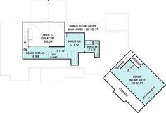 Upper/Second Floor Plan