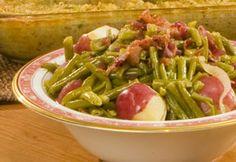 Green Beans with New Potatoes - Paula Deen