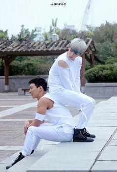 Monsta X Shownu and Wonho