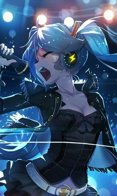 Hatsune Miku Wallpaper Iphone Vocaloid Pinterest Anime