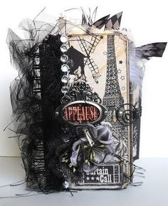 Paper bag scrapbook album..I made a few of these and they are great for gifts....Also fun to make!
