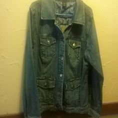 Jean jacket Blue jean jacket Venezia Jackets & Coats Jean Jackets