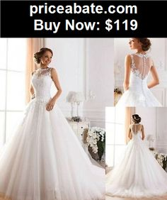 Wedding-Dresses: New White/ivory Wedding dress Bridal Gown custom size 6-8-10-12-14-16-18+ - BUY IT NOW ONLY $119