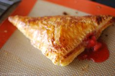 Baked by Jen: Strawberry Turnovers