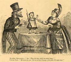 Political cartoon published on July 23, 1870
