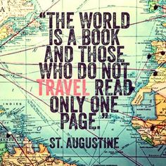 Thursday truth! #traveladdict #wanderlust #travelquote