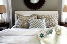 Like the paint color of bed for bedroom furniture-BEHR Hushed White