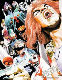 ✭ Thunder Cats & Gatchaman by Alex Ross