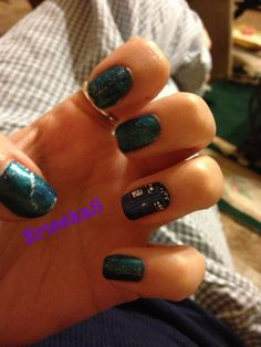 Nail art doctor who inspired more on twitter