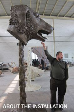 Chinese contemporary artist #AiWeiwei sculpted these beautiful #ChineseZodiac heads currently touring the world.