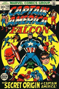 Captain America And The Falcon #155