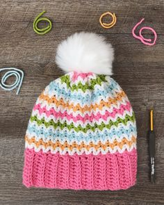Use this adorable free crochet pattern to create this fun slouchy beanie in 3 sizes. Free crochet pattern from Daisy Cottage Designs.