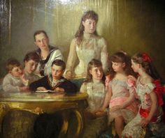 THE FAMILY OF KING CHRISTIAN IX OF DENMARK