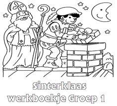 Sinterklaas Werkboekje Groep 1