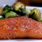In this smoked salmon recipe, we are using a dry brine with brown sugar and kosher salt and smoking the salmon with cherry wood to a perfect finish.