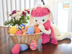 Sunny The Big Easter Bunny PDF Crochet Pattern With Instant Download by IraRott