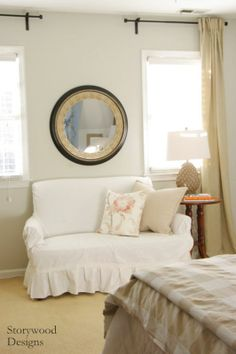 Working With What You've Got... Creating a Master Bedroom Seating Area Using Pieces You Already Have.