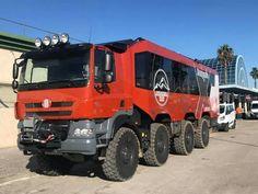 Tatra Phoenix 8x8 Adventure Vehicle