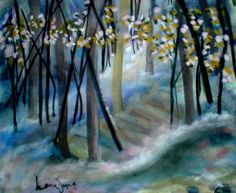 "Painted 2001  ""Mystic Woods"""