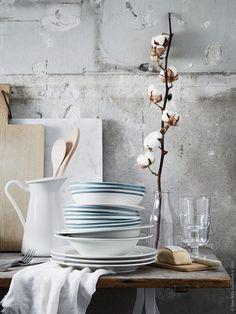 주방 / 식당 | IKEA Life 홈 - 영감을주는 홈 데코레이션 Gray Interior, Interior And Exterior, Interior Design, Ikea Vardagen, Ikea Kitchen Accessories, Prop Styling, Love Home, Dream Decor, Still Life Photography