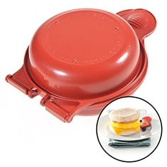 Nordic Ware Microwave Egg Muffin Pan Breakfast Sandwich Kitchen Tool Cooker USA - http://sleepychef.com/nordic-ware-microwave-egg-muffin-pan-breakfast-sandwich-kitchen-tool-cooker-usa/