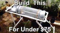 Chris Fietzer shows step by step how to build a portable worm casting separator and compost sifter for under $75 and then does a quick demo at the end of the...