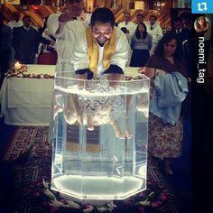 Baptismal font plexiglass