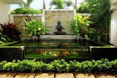 Sublime Koi Pond Designs and Water Garden Ideas for Modern Homes | Contemporary Decor | Boca do Lobo Inspirations www.bocadolobo.com/en